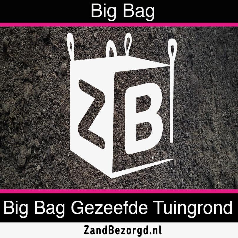 Big Bag Gezeefde Tuingrond