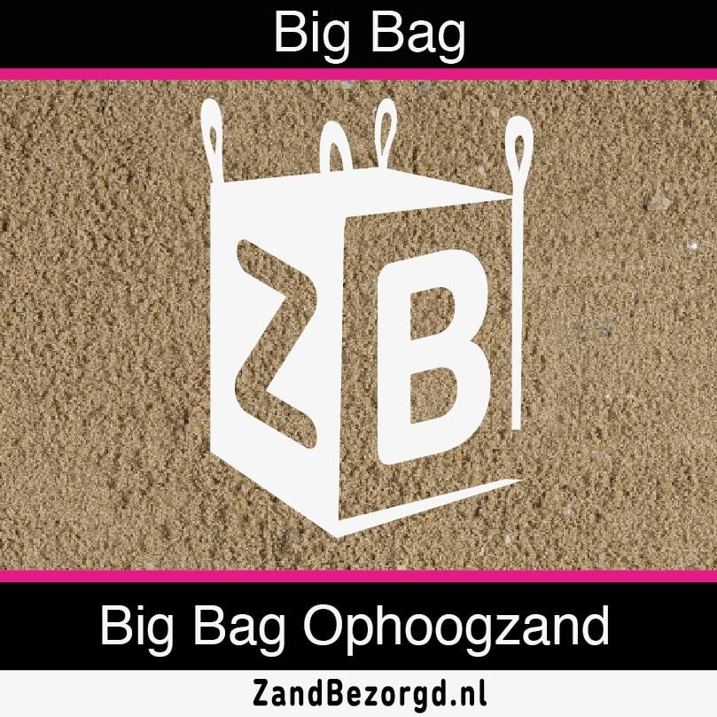 Big Bag ophoogzand