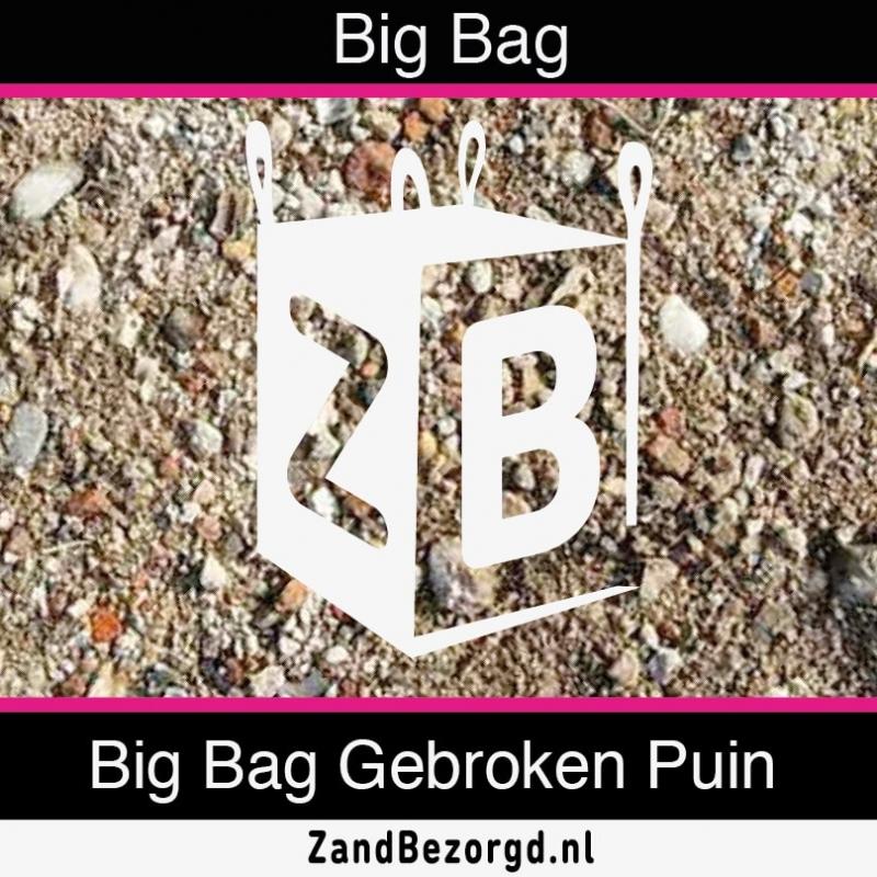 Big Bag Gebroken Puin | Kuub Menggranulaat